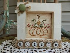 Hey, I found this really awesome Etsy listing at https://www.etsy.com/listing/454921154/decorative-autumn-framed-stitchery