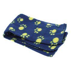 Lindo patas Patrón Manta Suave Fleece Mat Manta para mascotas perros (colores surtidos) – USD $ 6.39