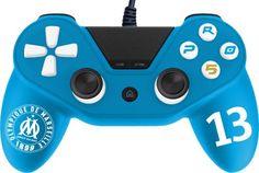 on aime Manette Subsonic Pro 5 pour PS4 Edition Olympique de Marseille chez FNAC