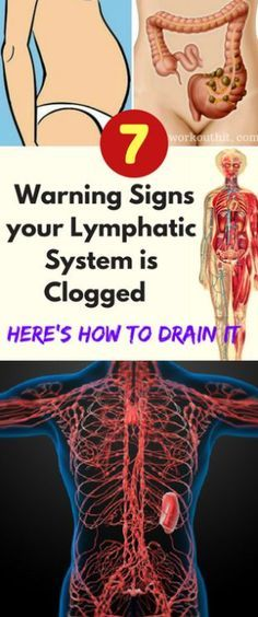 7 Warning Signs your Lymphatic System is Clogged – Here's How to Drain It – Toned