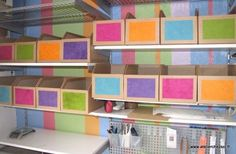 DIY - Tutoriel : des casiers de rangement en carton - Pour tout ranger dans la maison, réalisé à partir de carton de récup'