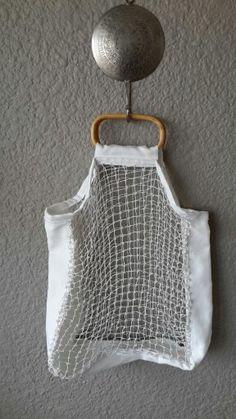 Cotton net shopper by Lauren Roderick for Djibouit Interiors