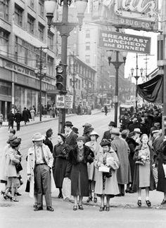 Photograph by William Vandivert. Kansas City, Missouri, USA, March 1938.