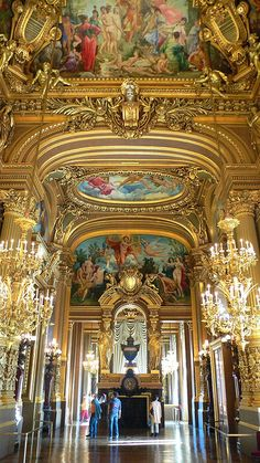 *PARIS OPERA HOUSE ~ by ayearineurope, via Flickr