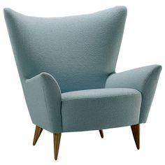 Fauteuil Matador design de Sir Terence Conran chez The Conran Shop … Wingback Armchair, Chaise Chair, Fabric Armchairs, Chair Fabric, Upholstered Accent Chairs, Luxury Sofa, Retro, Decoration, Furniture Design