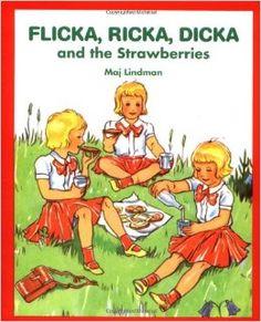 flicka ricka dicka books. maj lindman.