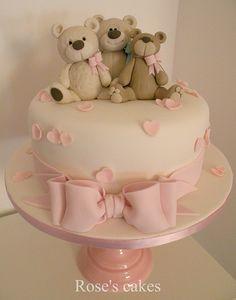 teddy bear cake (baby)