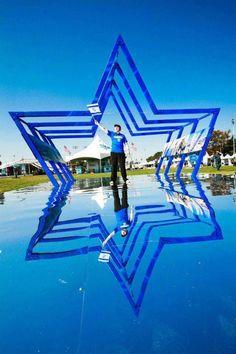Jewish Star of David photo--cool