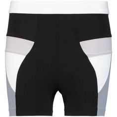 No Ka'Oi - Paku Color-block Stretch-jersey Shorts ($61)
