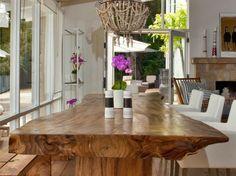 Live Edge Suar Dining Table | Malibu Market & Design