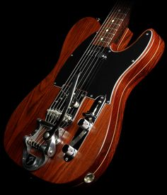 Used 2008 Fender Custom Shop Yuriy Shishkov Masterbuilt Cocobolo Telecaster Electric Guitar Natural
