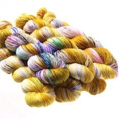 Brilliantly colorful, each one-of-a-kind skein of Hedgehog Fibres is hand-dyed by fiber artist Beata Jezek and her small team in County Cork, Ireland. Sock is Hedgehog's most popular yarn, a softly sp Hedgehog Fibres, Spinning Yarn, Fool Gold, Sport Weight Yarn, Shawl Patterns, Yarn Shop, Sock Yarn, Hand Dyed Yarn, Lana