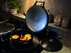 The new AGA Cast-Iron Casseroles are perfect for long slow cooking in the AGA ovens and quicker dishes on the hotplates. Aga Oven, Cast Iron Cookware, Slow Cooking, Ovens, Kitchenware, Casseroles, Dishes, Food, Home