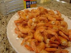 The Best way---Beer Steamed Old Bay Shrimp