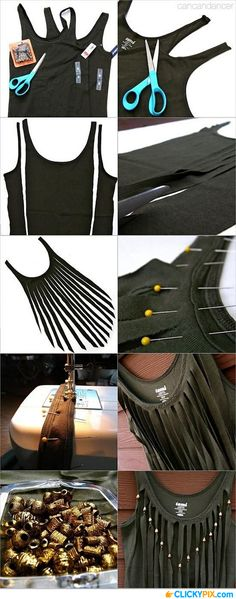 16 DIY Fashion Projects That You Have To Try - 14: DIY T-shirt