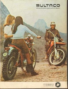 1973- Bultaco Magazine Ad
