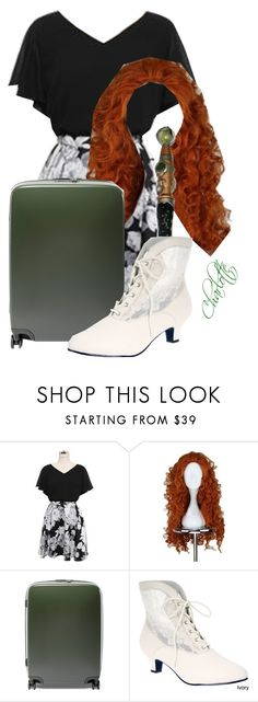 """""""Untitled #1288"""" by may-foreman ❤ liked on Polyvore featuring Gumzzi, Merida, Raden and Funtasma"""