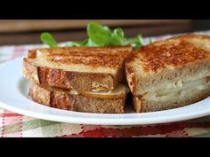 Grilled Brie & Pear Sandwich - Grilled Cheese Sandwich Recipe