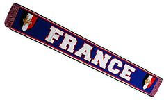 Echarpe supporter - FRANCE - Collection supporter football - Taille 138 cm