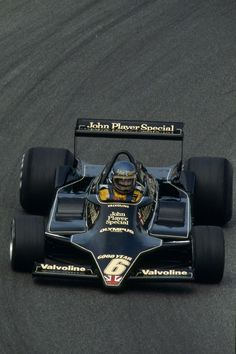 "legendsofracing: ""Ronnie Peterson with the sleek Lotus 79 at Anderstorp during the Swedish Grand Prix in 1978. """