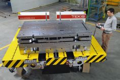 Mould base manufacturer Tekis said it has added a tool carrier robot to its custom machines and equipment manufacturing line.