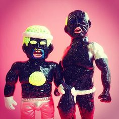 Yukinori Dehara collectible toys-  俺たちと宇宙しないか? 漁師&極道、上海展用 #SSF2016