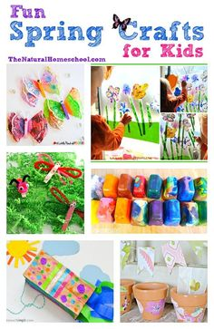 This is an great list of posts that bring you beautiful advice to make Fun Spring Crafts for Kids a wonderful experience. Include your children in the reading. What do they think? Diy Crafts For Kids, Art For Kids, Spring Crafts For Kids, Toddler Crafts, Kids Crafts, Summer Crafts, Science Crafts, Kids Diy, Kid Art