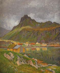 Swedish Landscape Painter Anton Genberg (1862-1939) ~ Blog of an Art Admirer