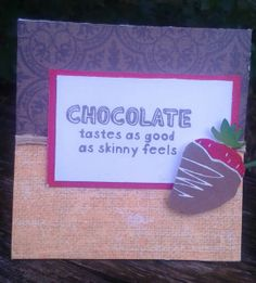 Create your Vision: Sotm august a chocolate affair