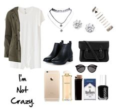 """""""Untitled #938"""" by alyssakate96 on Polyvore featuring LnA, Wet Seal, Forever 21, Kenneth Jay Lane, Dorothy Perkins, The Cambridge Satchel Company, Yves Saint Laurent, Salvatore Ferragamo and Essie"""