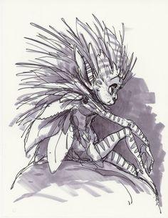 The King of the Elves -Elves/Hidden Creature designs. | The Art of Aaron Blaise
