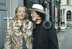Jimmy Page w/ daughter Scarlet, now a noted photographer. (Check out her website.)