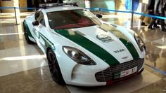 Dubai Police Car Aston Martin One 77