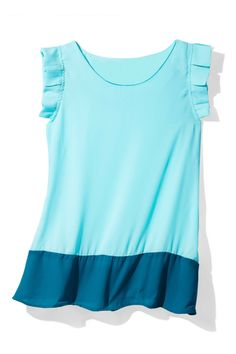 Hot Summer Fashion That Won't Burn Your Budget:Happy, lightweight, tummy-hiding...what's not to love about this breezy top?  Top, Sweet Rain, $39.99; modcloth.com.
