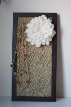 I've been looking at jewelry displays and this is great inspiration!