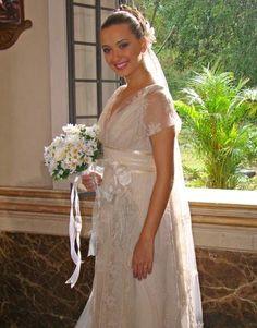 Juliana Boller na novela Paraíso da tv Globo noiva Carol Nasser