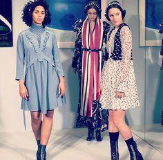 dancevertise - Mode - Tanz - live Performance - Dorothee Schumacher - Der Berliner Mode Salon - Fashion Week 2016