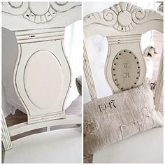 Stoffe streichen mit den Chak Paint von Annnie Sloan http://wohnklunker.de