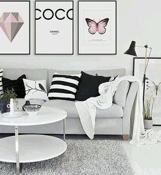Saiu post novo! Quem mais ama decoração minimalista? Eu sou apaixonada 💙. E fiz post la no blog pra vocês! Link na bio💕 corre porque ta muuuito fofo🐼#boanoite #decor #minimalist #minimalista #decoration #black #white #livingroom #blog #fashionph #fashionpost #new #goodnight #inspiration