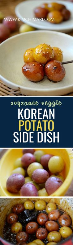 Simple, easy side dish made of baby potatoes!