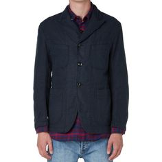 Engineered Garments Bedford Jacket (Dark Navy Moleskin)