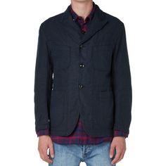 Engineered Garments Bedford Jacket (Dark Navy Moleskin)