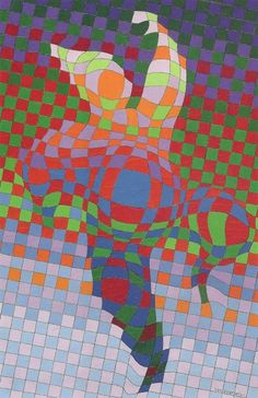vasarely arlequin - Google Search