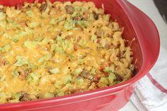 Recipe:+Skinny+Cheeseburger+Casserole