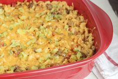 Recipe:+Skinny+Cheeseburger+Casserole