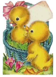 Nanalulu's Musings: Some Vintage EASTER Graphics Images To Share: