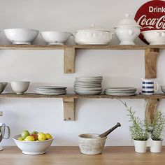 Reuse and reclaim | Kitchen shelving ideas | Kitchen shelving | PHOTO GALLERY | Beautiful Kitchens | Housetohome.co.uk