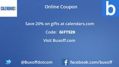 Latest calendars-com Coupon on Buxoff Visit to know more