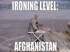 Ironing Level: Afghanistan