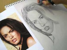 How To Draw Hair - Drawing Realistic Hair In Pencil